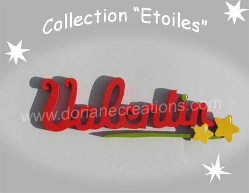 Prenom en bois etoiles 8 lettres