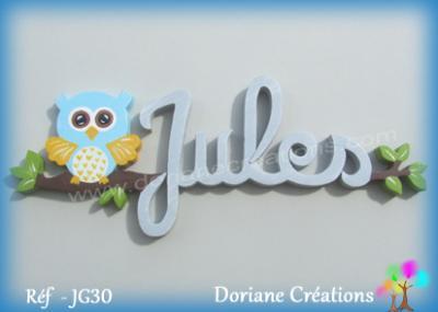 prénom bois Jules