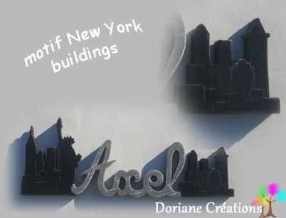 Prenom en bois new york