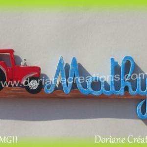 Prenom mathys bois tracteur