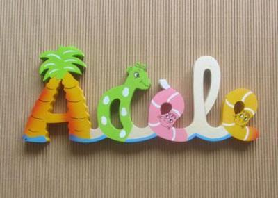 Prénom lettres en bois Adèle