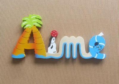 Prénom lettres en bois Aimé