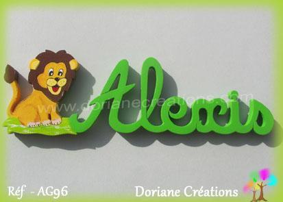 Prenombois alexis lionceau