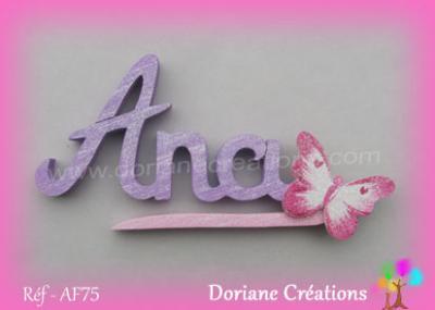 prénom bois Ana - AF75