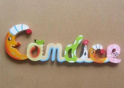 Prénom lettres en bois Candice
