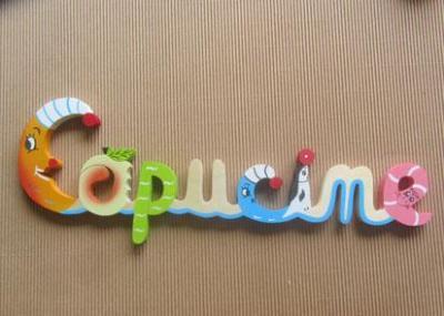 Prénom lettres en bois Capucine