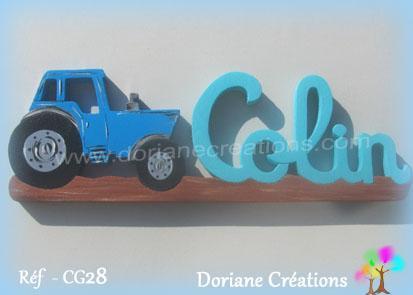 Prenombois colin tracteur