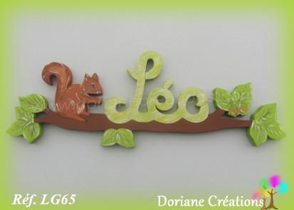 Prenombois ecureuil leo