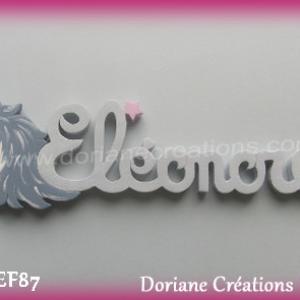 Prenombois eleonore licorne