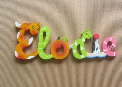 Prénom lettres en bois Elodie