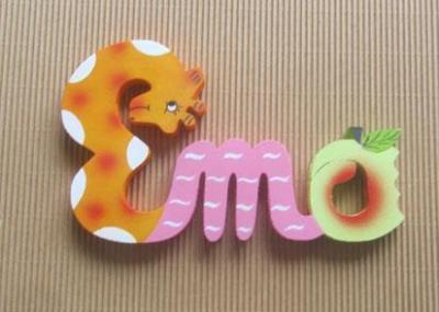 Prénom lettres en bois Ema