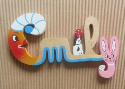 Prénom lettres en bois Emily