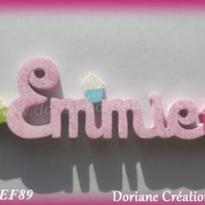 Prenombois emmie avec cupcakes