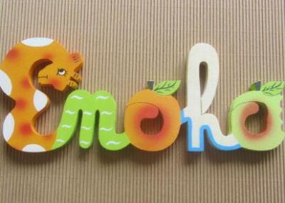 Prénom lettres en bois Enoha