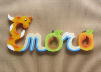 Prénom lettres en bois Enora
