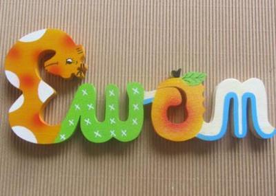 Prénom lettres en bois Ewan