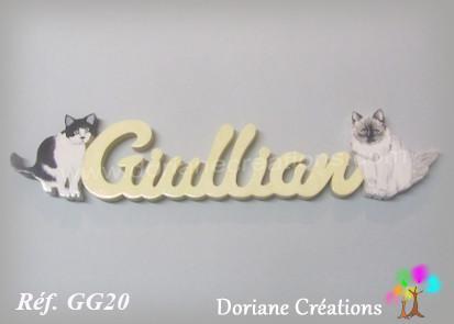 Prenombois giullian avec chats
