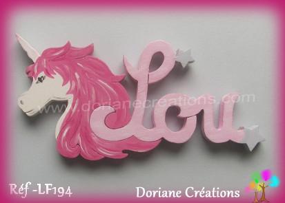 Prenombois lou licorne