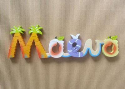 Prénom lettres en bois Maëva