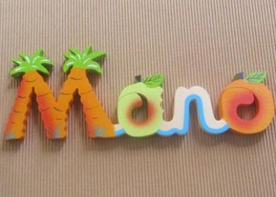 Prénom lettres en bois Mano