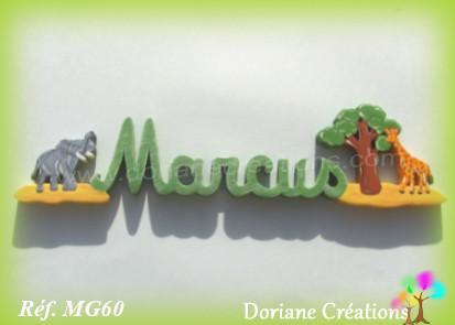 Prenombois marcus elephant et girafe