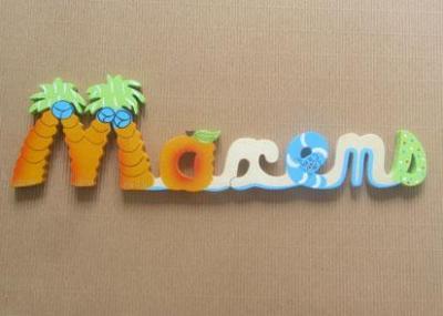 Prénom lettres en bois Maxens