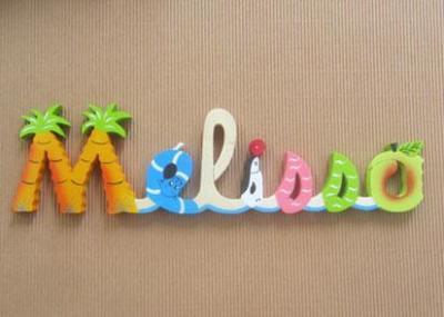 Prénom lettres en bois Mélissa