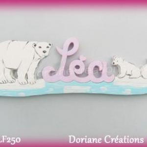 Prenombois ours polaires fille