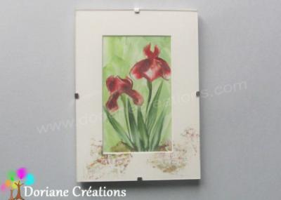 Sous-verre 13x18 cm iris