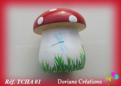 01- tirelire champignon